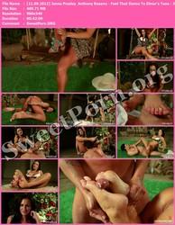 FootWorship.com [11.09.2012] Jenna Presley & Anthony Rosano - Feet That Dance To Elmer's Tune - Jenna Presley Thumbnail